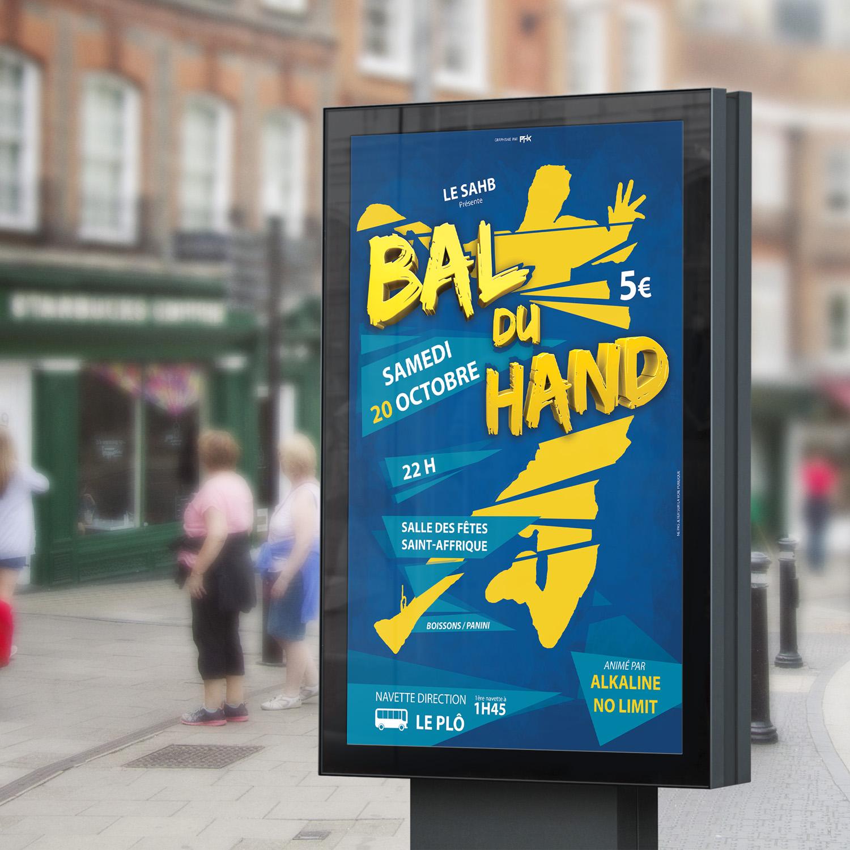 Affiche Bal SAHB 2018
