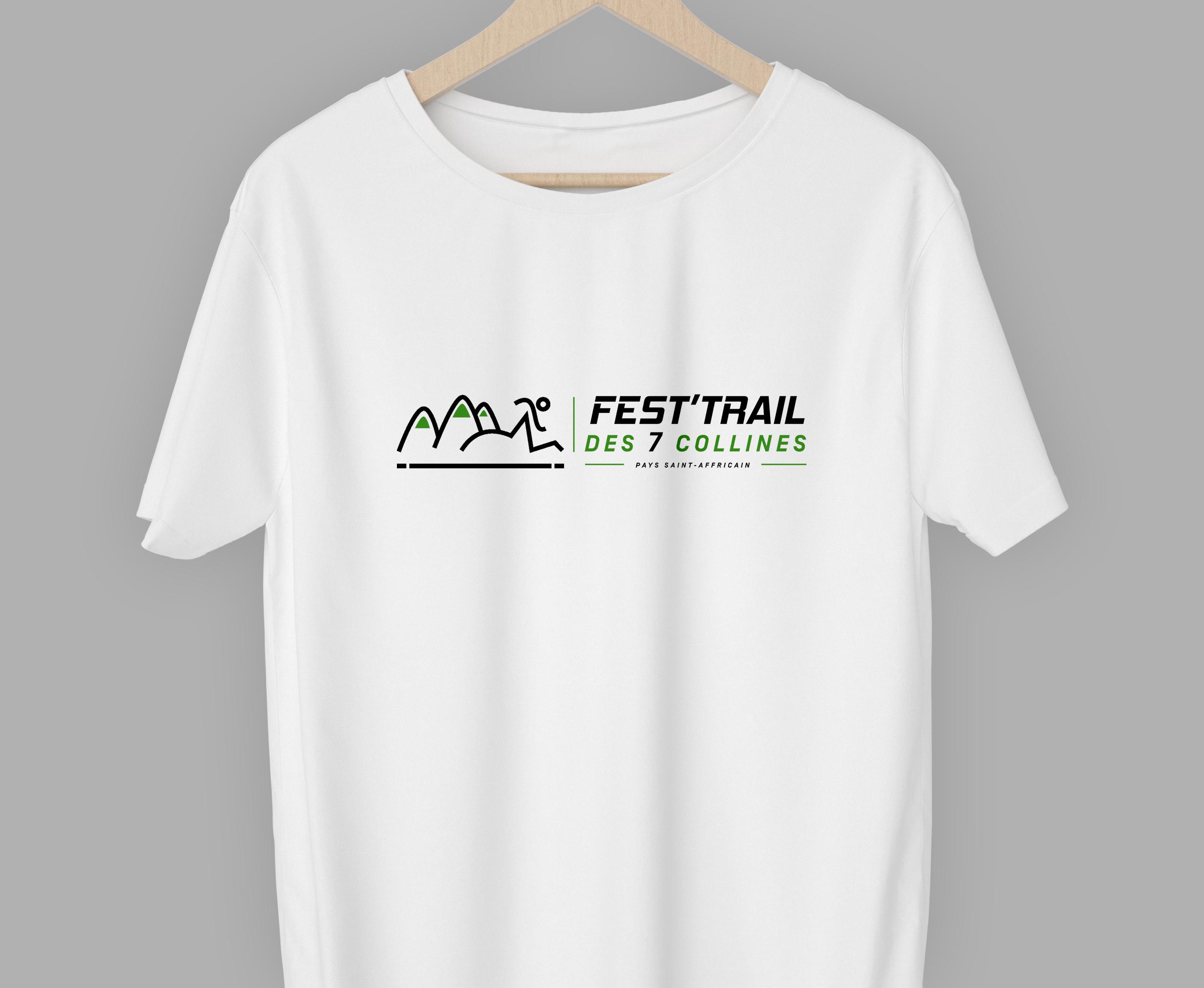 Test pour le t-shirt officiel du Festtrail